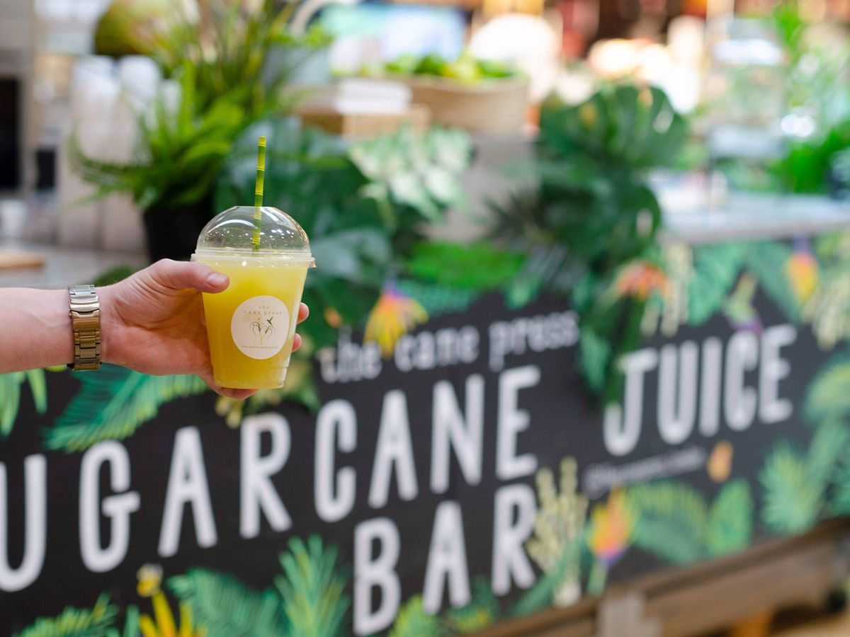 Best Caribbean street food in London: The Cane Press sugar cane drinks