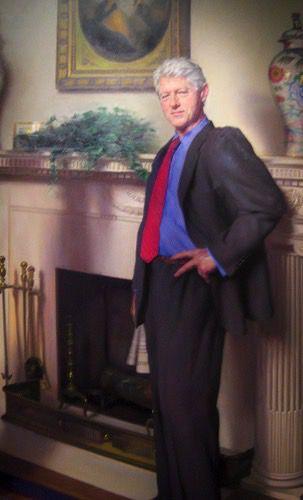 Clinton Portrait