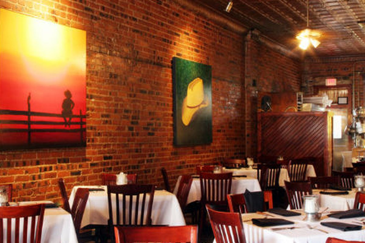 The Lonesome Dove Western Bistro in Fort Worth.