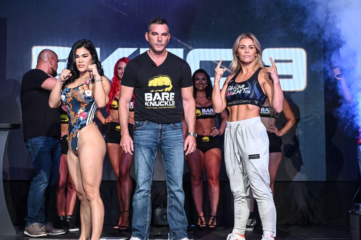 BKFC 19 live blog: Paige VanZant vs. Rachael Ostovich - MMA Fighting