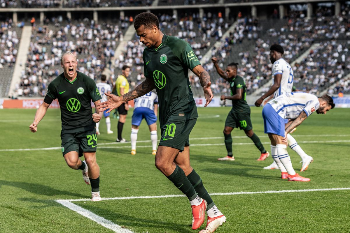 Hertha BSC v VfL Wolfsburg - Bundesliga for DFL