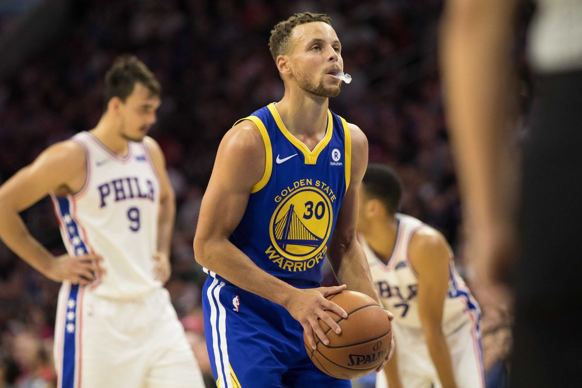 Warriors Vs 76ers Final Score Stephen Cury Leads 124 116 Comeback Win Golden State Of Mind