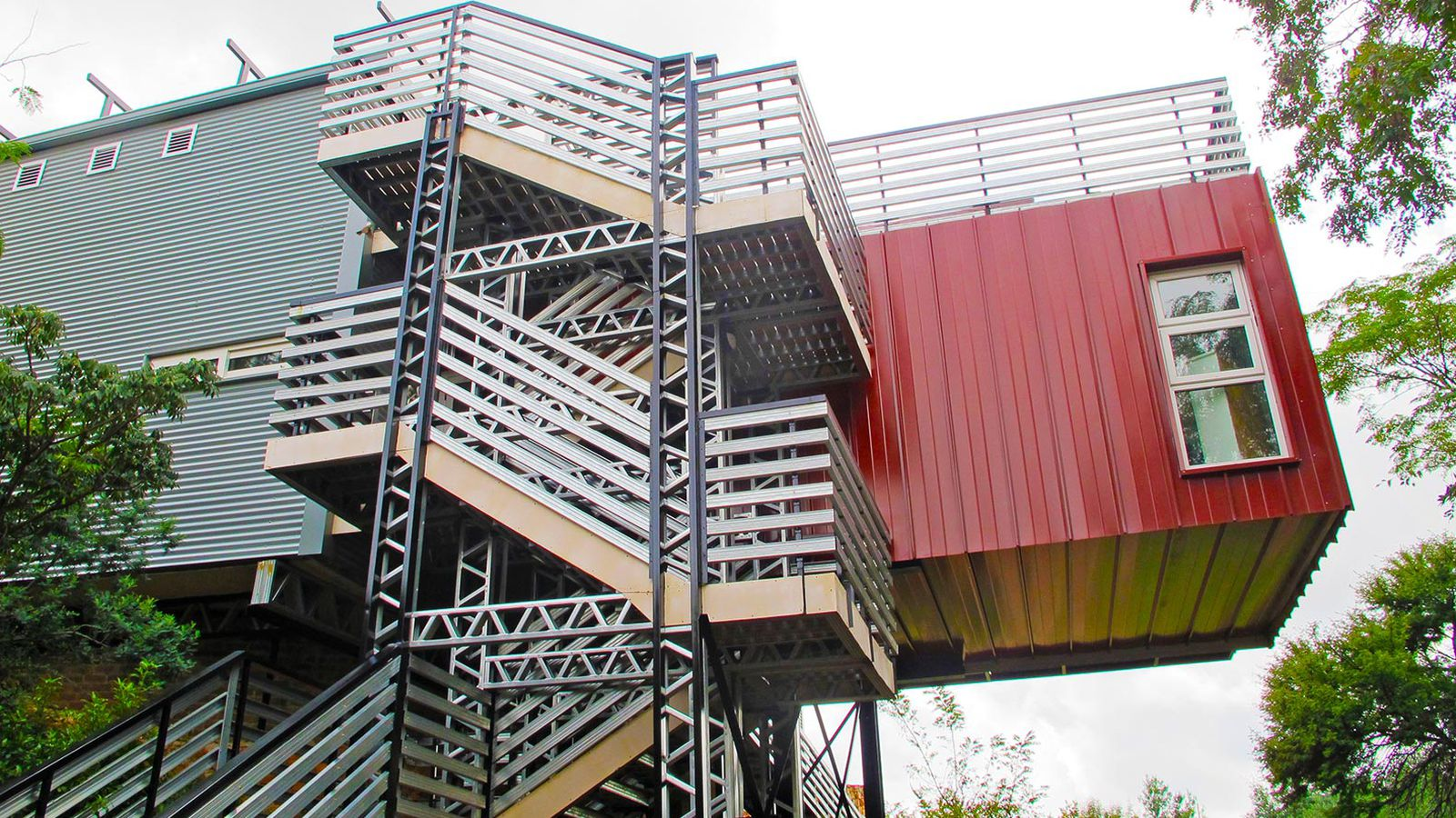 Shipping containers repurposed for off grid home in south africa curbed - Shipping container homes chicago ...