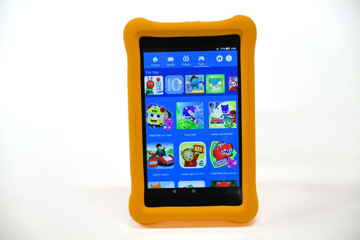 Tablet with childproof cover