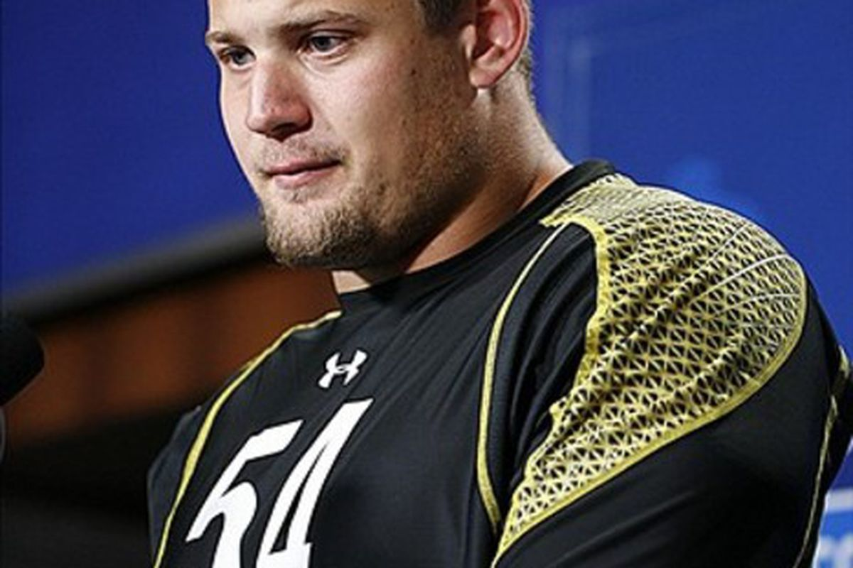 Zeitler anchored Wisconsin's right guard position for three seasons, starting all 40 games during that time.