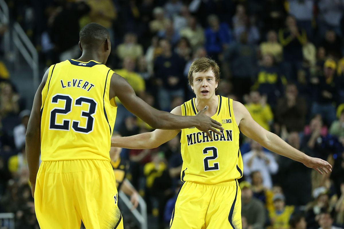 Albrecht and LeVert are two of the key returners for Michigan