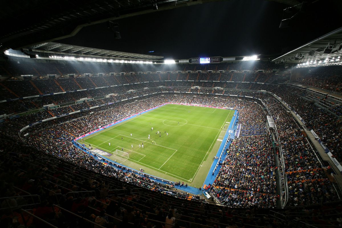 Real Madrid v Racing Santander