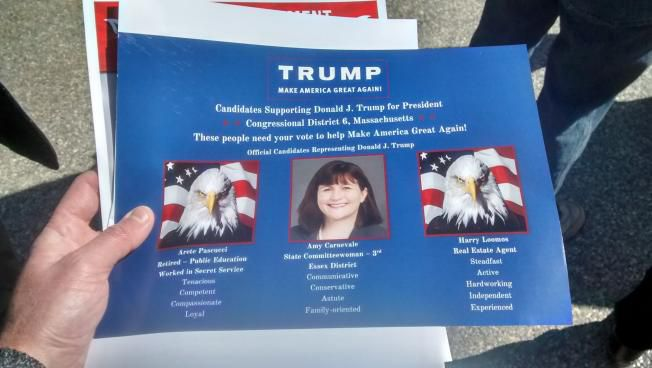 The Trump-endorsed slate of delegates from the 6th district.
