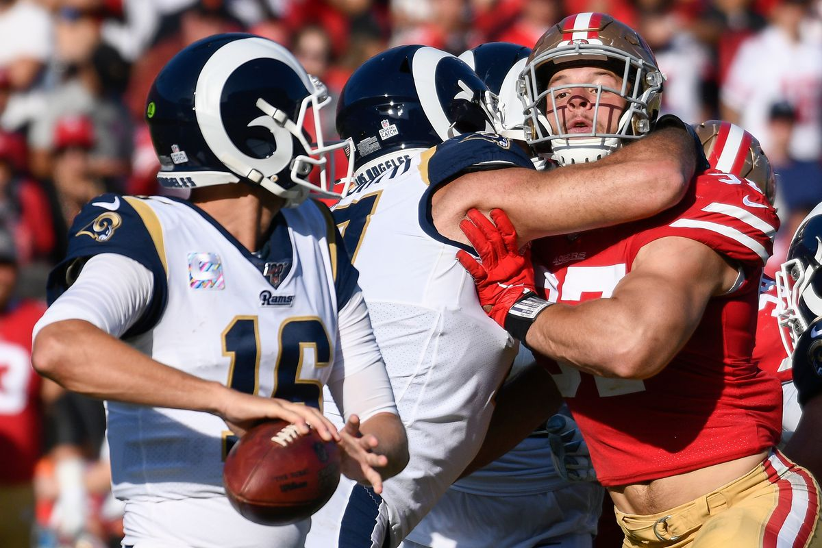 Los Angeles Rams At San Francisco 49ers Win Loss