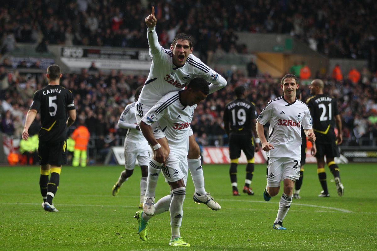Swansea City v Bolton Wanderers - Premier League