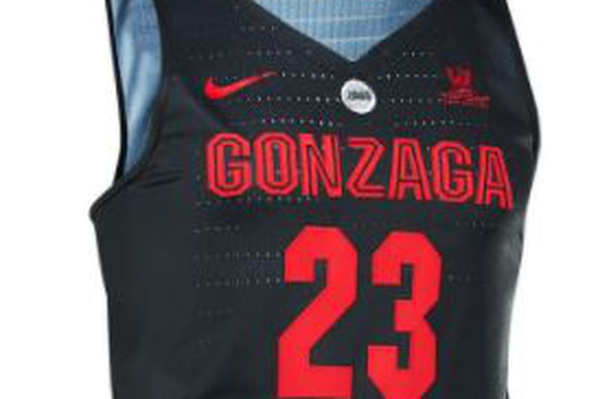 cheap for discount 09aa7 6ed44 Gonzaga to wear new alternate jerseys for PK80 - The Slipper ...