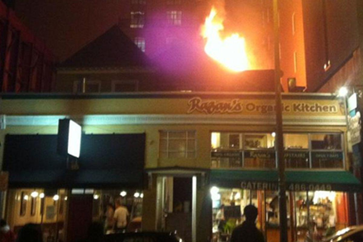 Kitchen Fire Maims Two Downtown Berkeley Restaurants - Eater SF