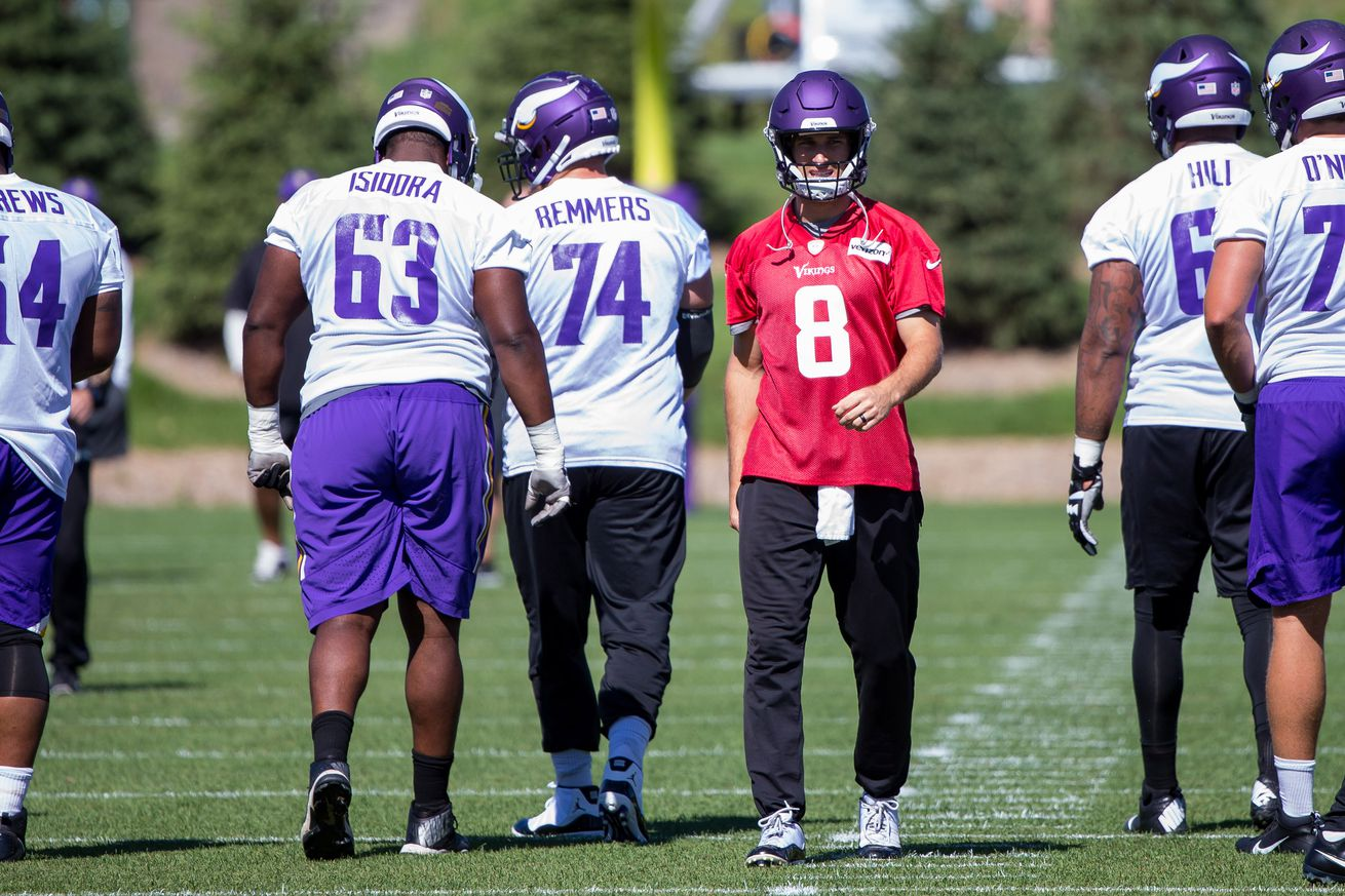 The odds are good you've already purchased a Kirk Cousins Vikings jersey