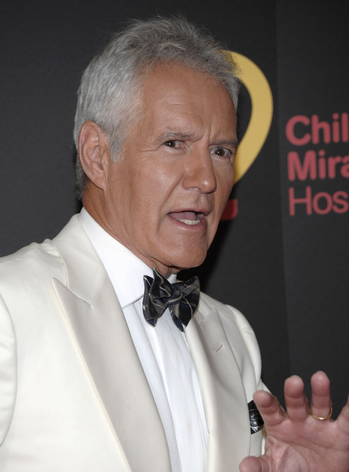 """Television personality Alex Trebek arrives at the 38th Annual Daytime Emmy Awards in Las Vegas on Sunday, June 19, 2011. In his recent memoir, Trebek goes well beyond """"Jeopardy!"""" to bring fans into his personal life."""