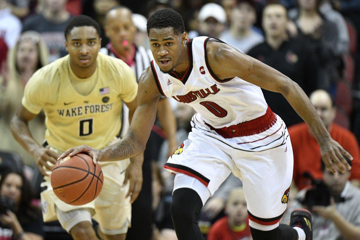 NCAA Basketball: Wake Forest at Louisville
