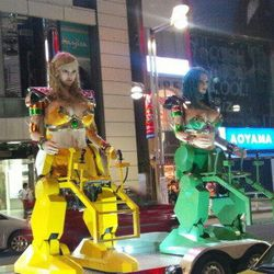 "[Photo: <a href=""http://www.crunchyroll.com/anime-news/2012/07/17/eye-popping-robot-girls-restaurant-opens-in-tokyo"">Crunchyroll</a>]"