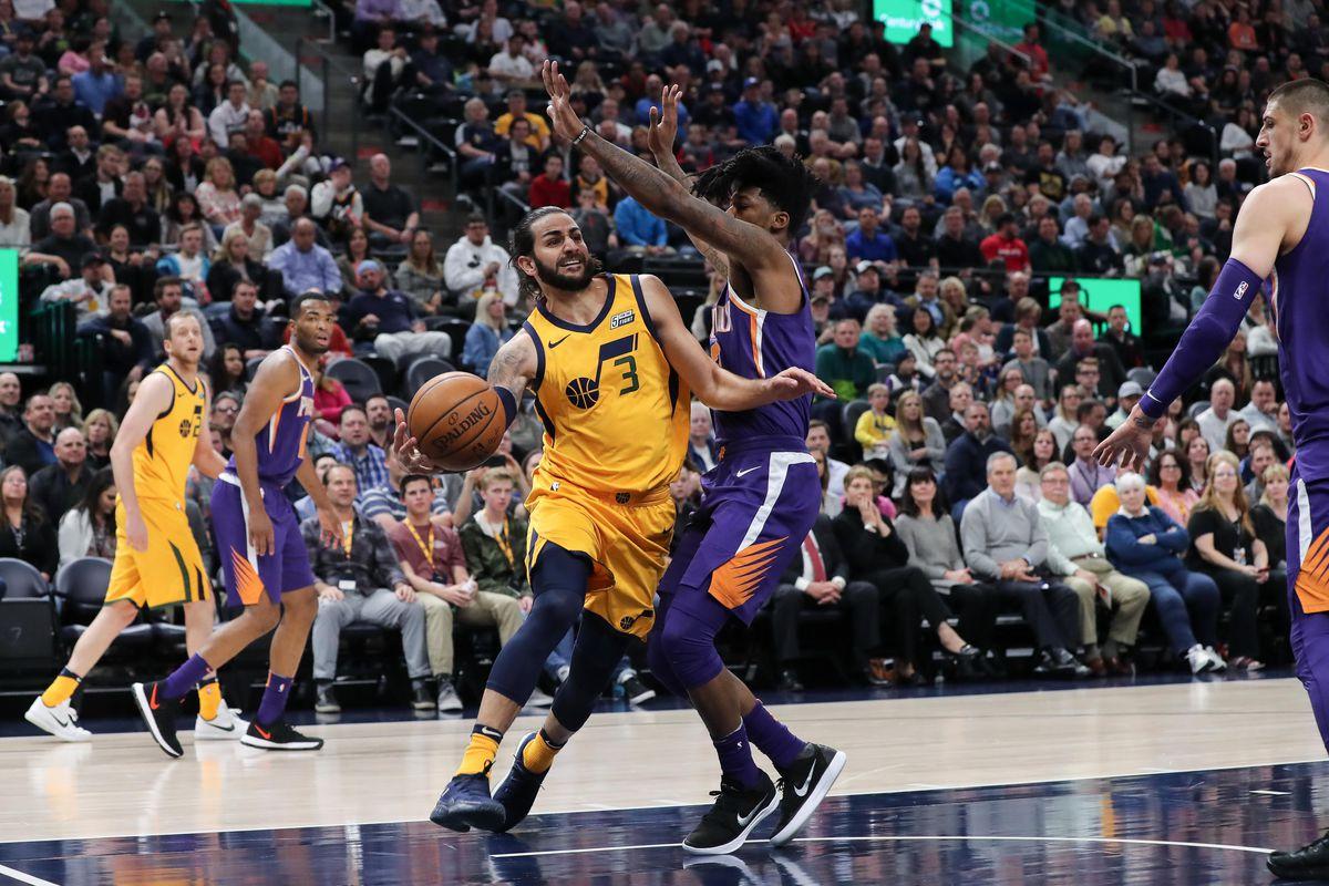 NBA: Phoenix Suns at Utah Jazz