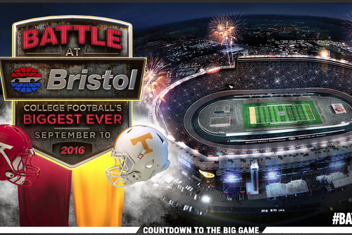 Tennessee Virginia Tech Calling Battle At Bristol The