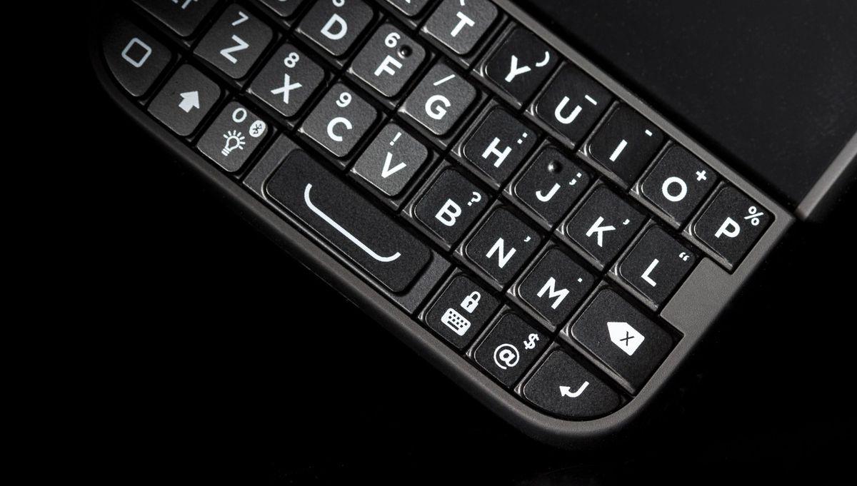Closeup of Typo 2 Keyboard