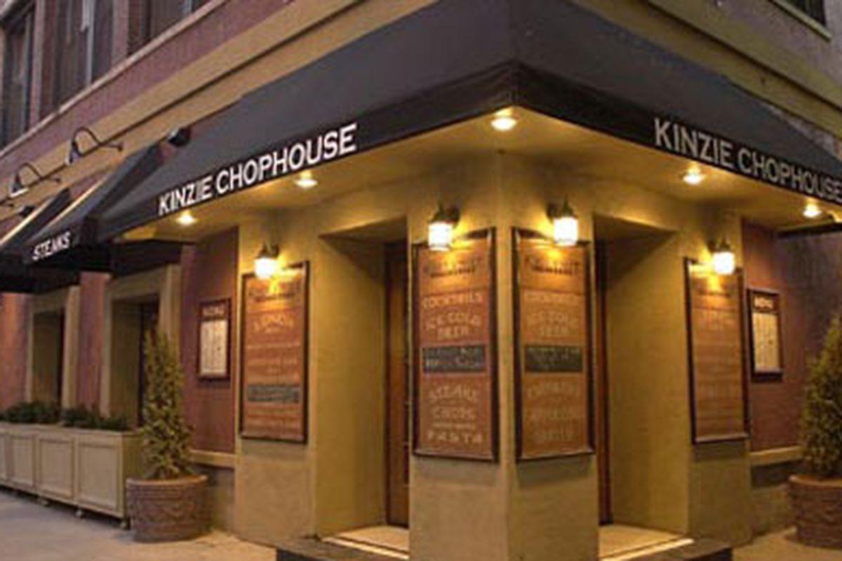 Kinzie Chophouse, a power lunch spot