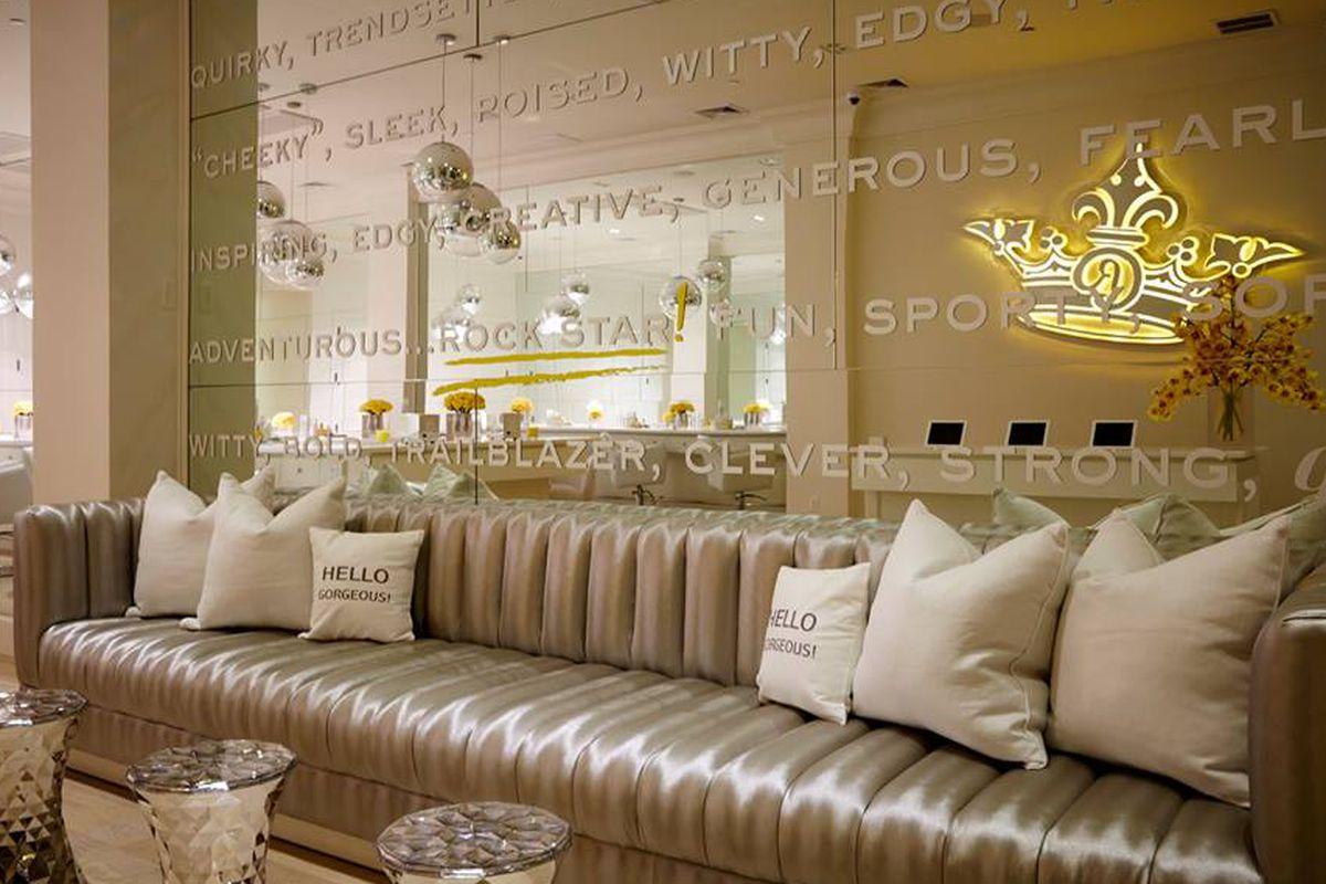 Inside the Flatiron salon