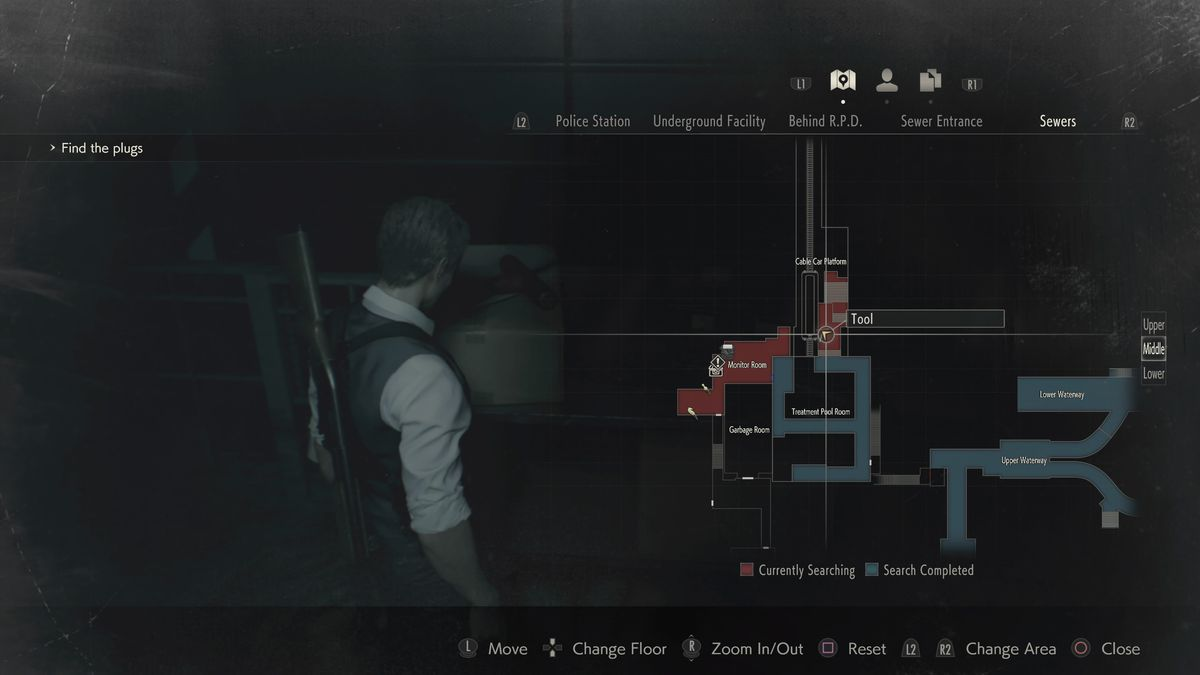 RE2 remake Leon Sewers walkthrough: Save Ada, solve the