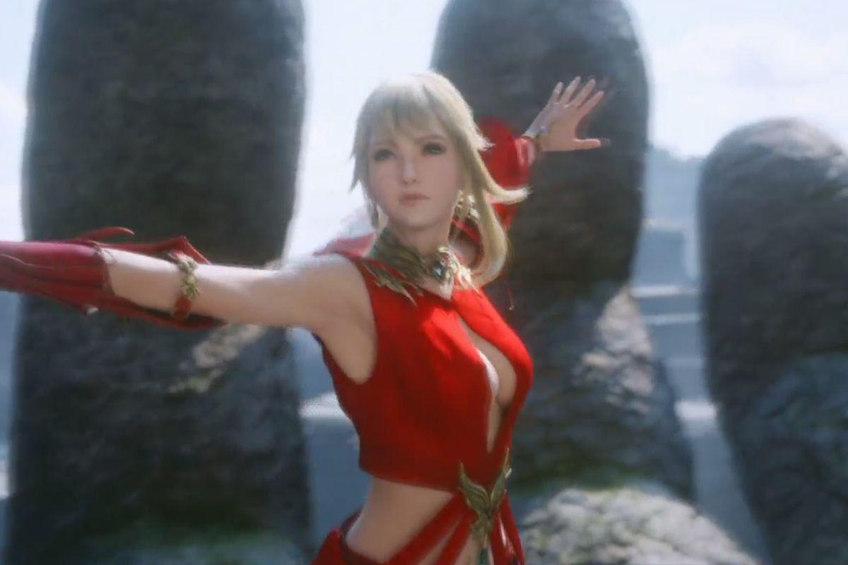 Final Fantasy 14: Stormblood trailer screencap