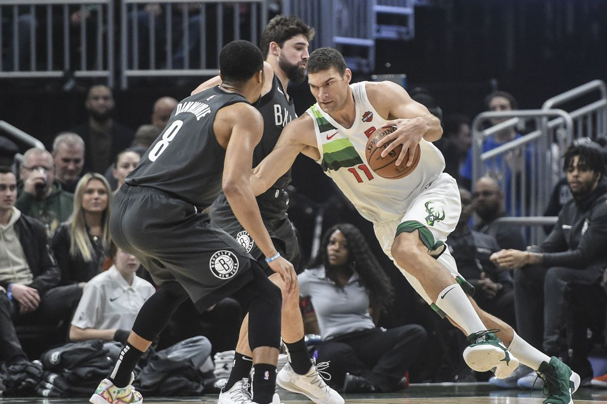 milwaukee vs brooklyn bucks make it rain in coast to coast win