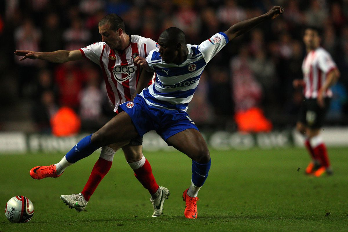 Afobe was loaned to Reading last year and had no hat-tricks