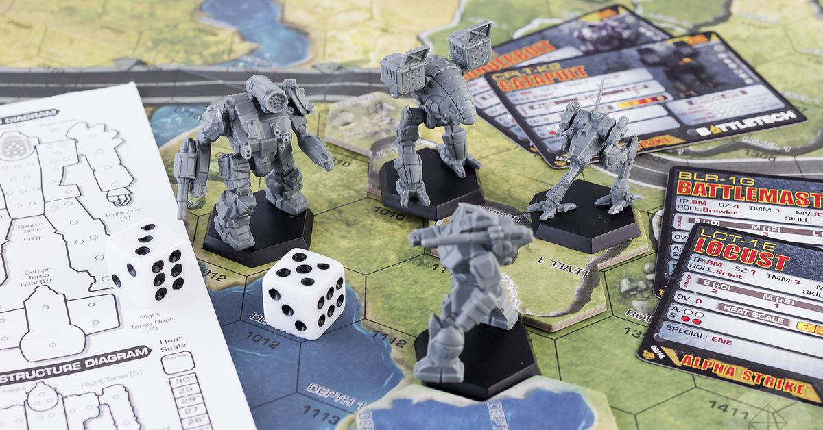 The best board games for people who love big robots