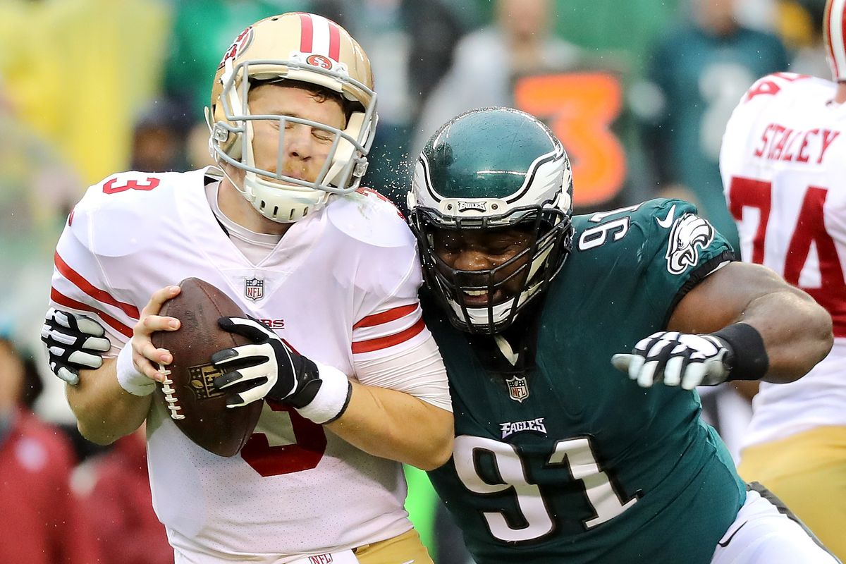 Fletcher Cox could potentially be suspended for hit on Joe Staley
