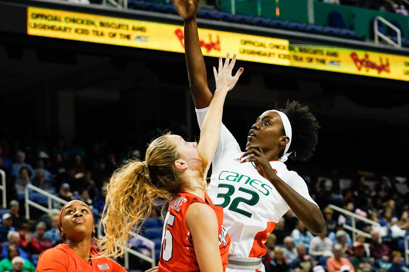 NCAA Womens Basketball: Atlantic Coast Conference Tournament - Miami vs Syracuse