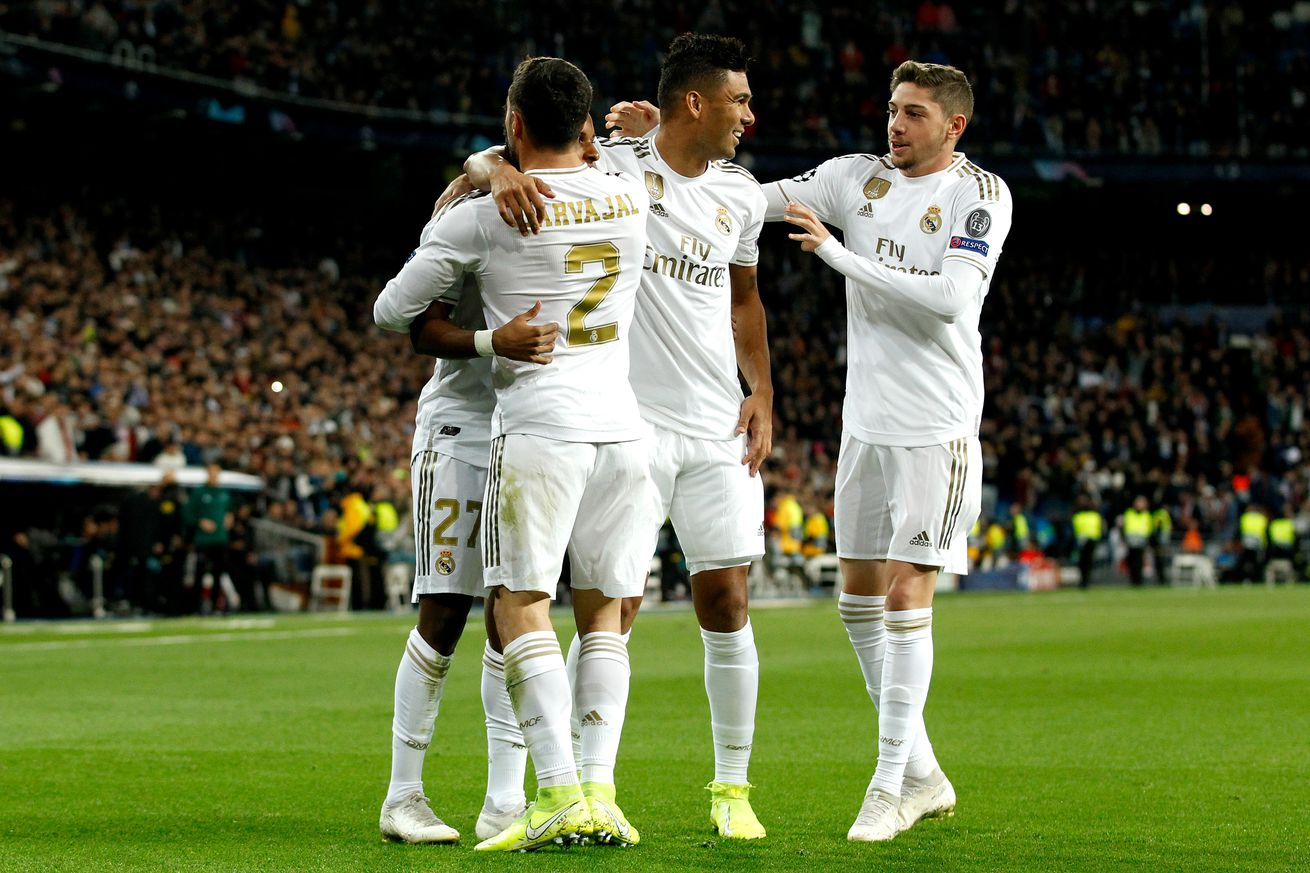 Player Ratings: Real Madrid 6-0 Galatasaray; 2019 -20 Champions League group stage