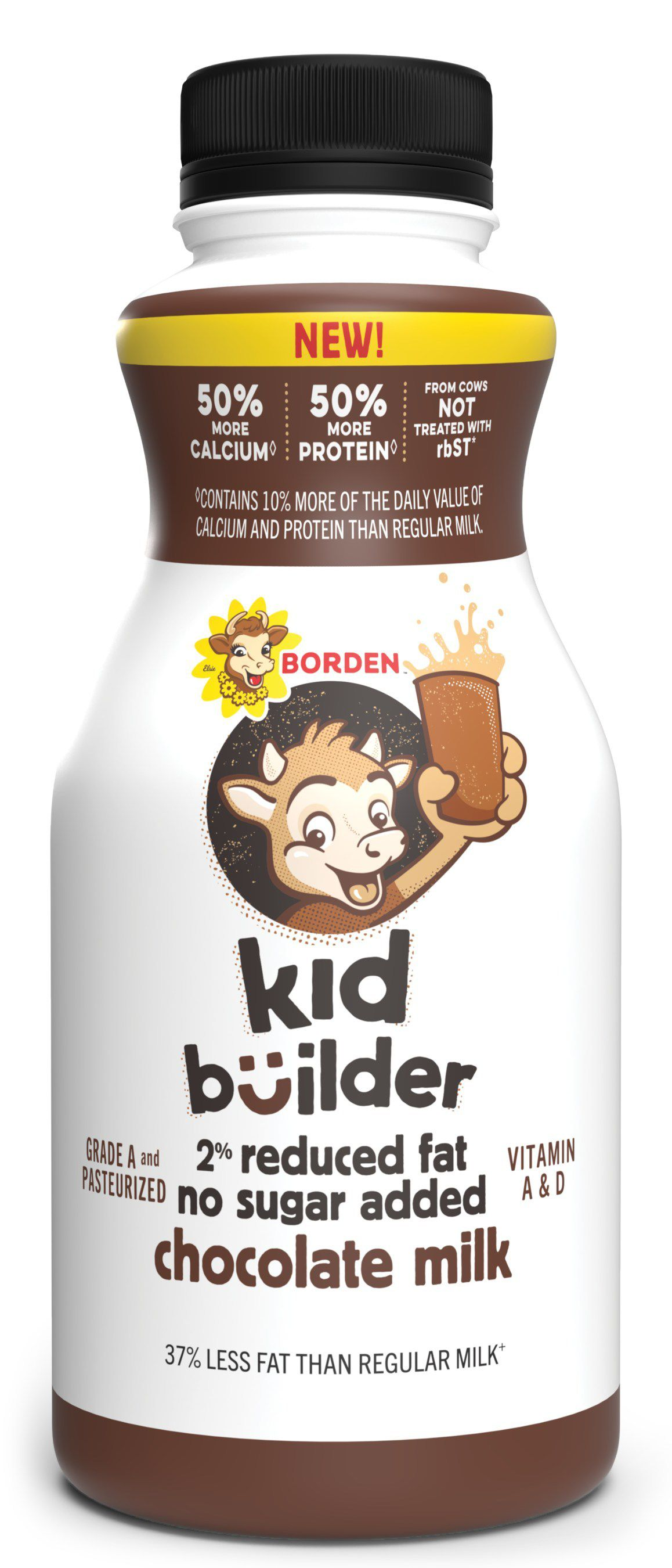 To diversify its revenue, Borden's has created new products like a high-protein flavored milk drink called Kid Builder as well as Gingerbread Egg Nog and new refrigerated dips.