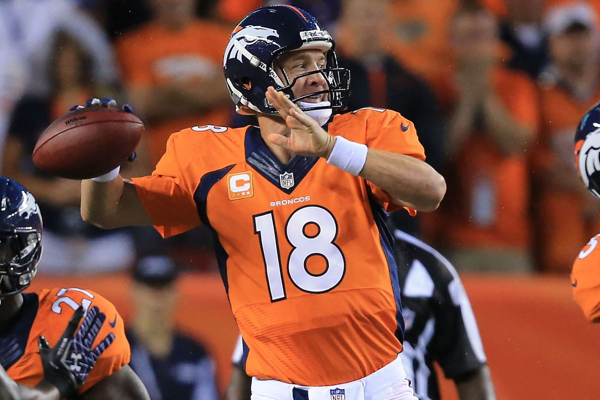 ravens vs broncos 2013 final score peyton manning breaks records