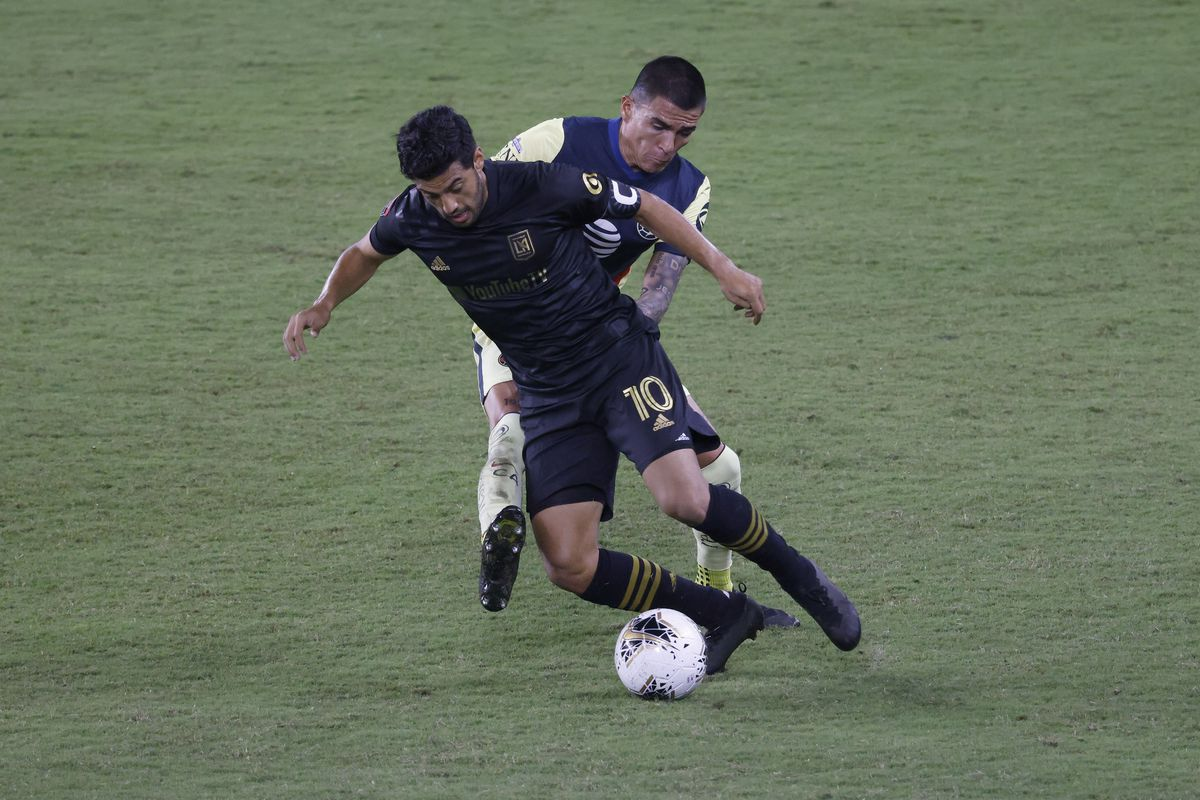 Soccer: 2020 Scotiabank Concacaf Champions League - Semifinals-Club America (MEX) at Los Angeles FC (USA)