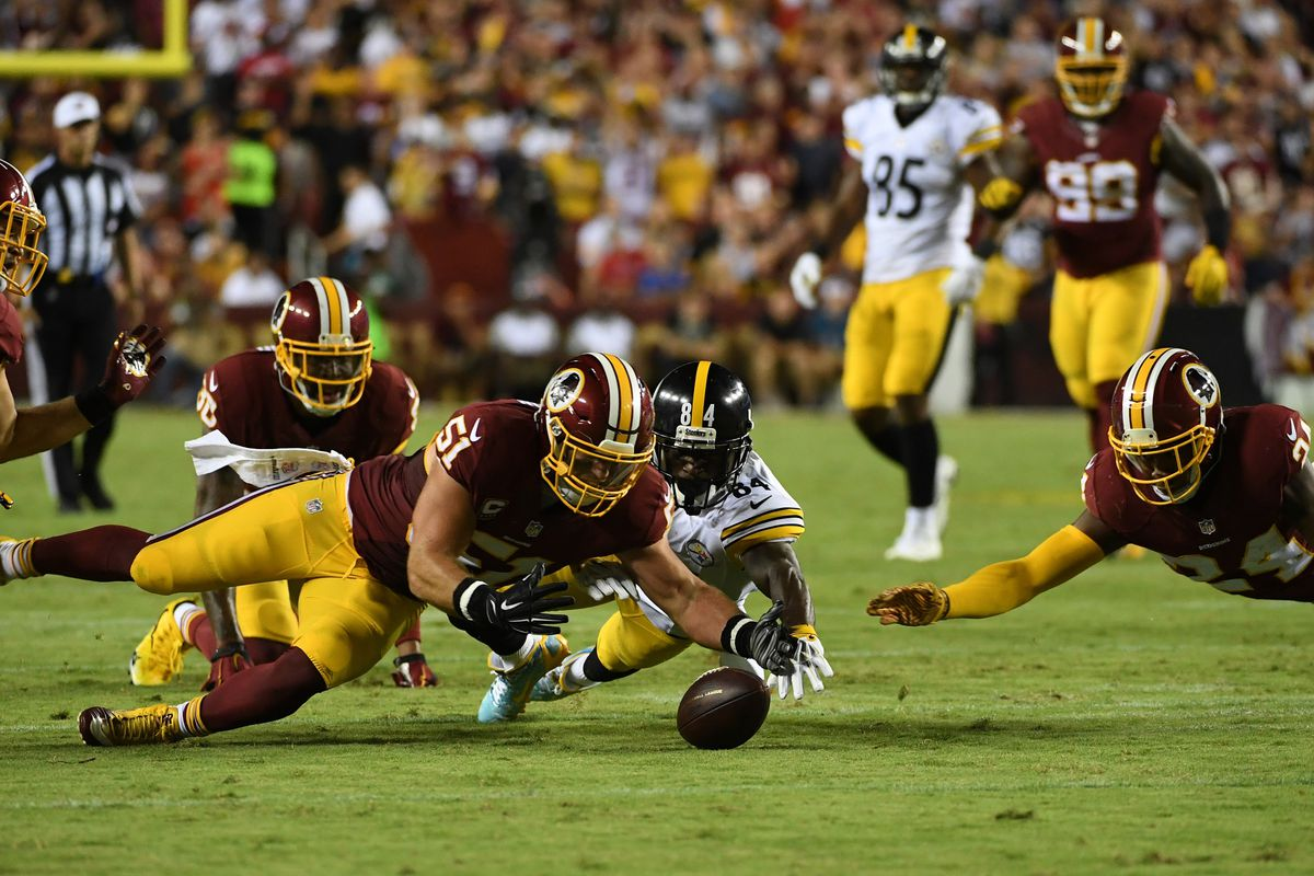 Monday Night Football- Pittsburg Steelers at Washington Redskins