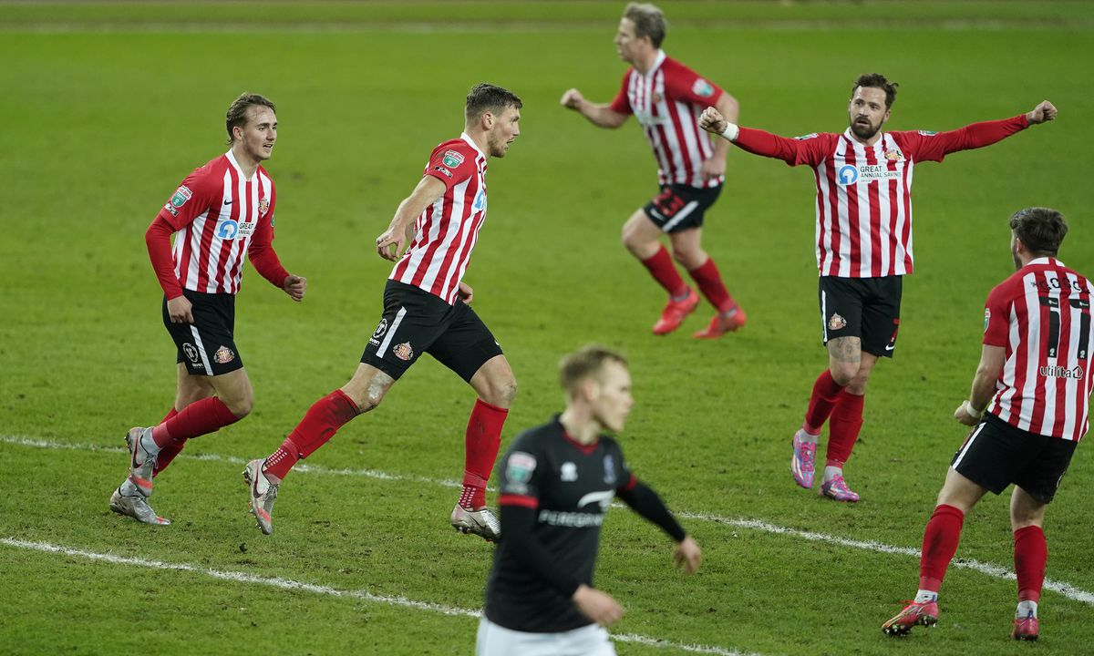 Sunderland v Lincoln City - Papa John's Trophy - Semi Final - Stadium of Light