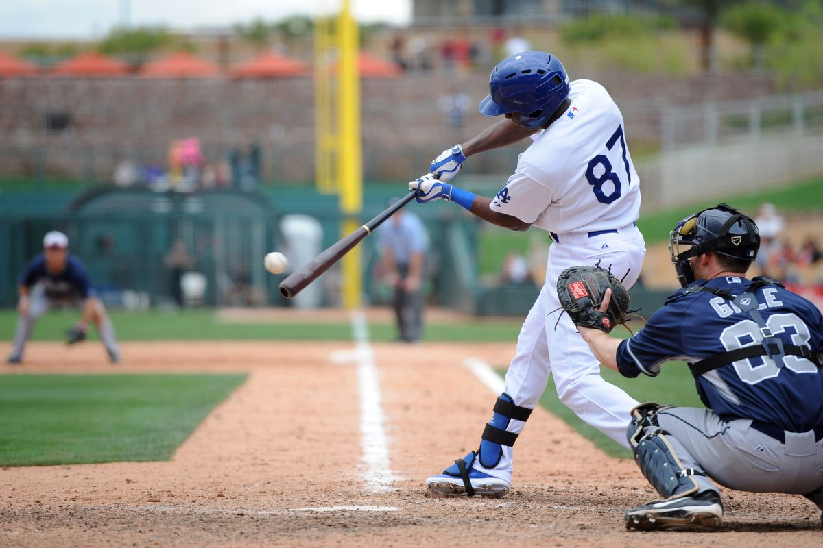 Desert Dog/Dodger middle infielder and occasional outfielder, Darnell Sweeney.