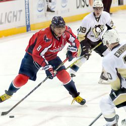 Ovechkin on Right Wing
