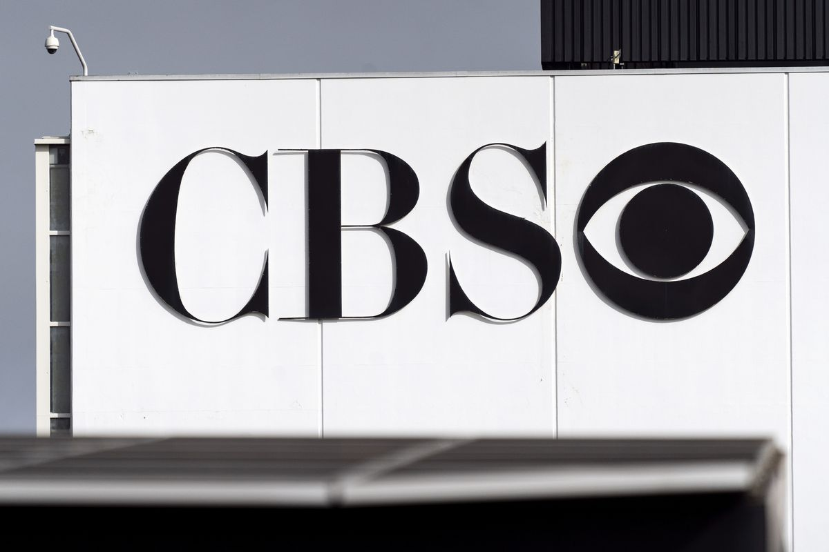 CBS logo seen at the CBS Television City Studio in Los...