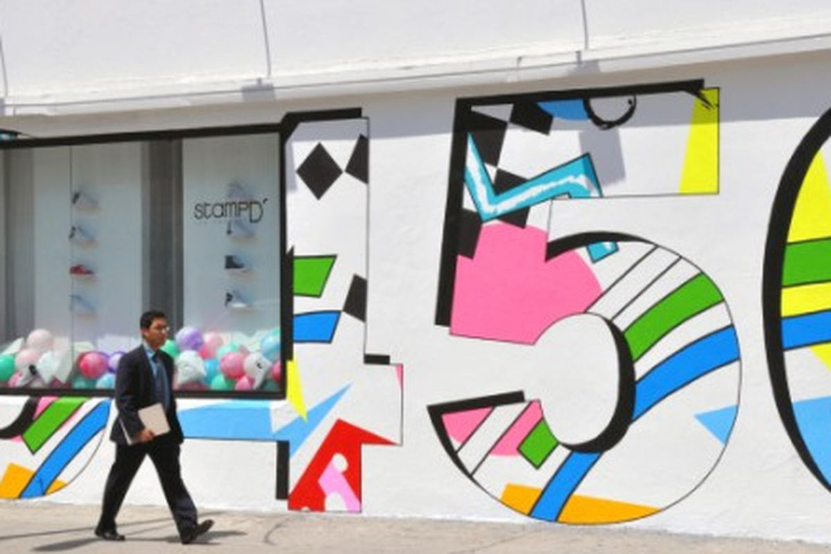 """The new and improved Joyrich, via <a href=""""http://cyanatrendland.com/2009/06/23/2%c2%ba-edition-stampd-la-retail-mural/"""">Trend Land</a>"""