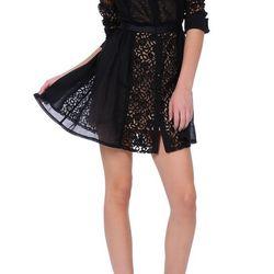 Goth Lolita Shirt Dress in black, ($150) from $325