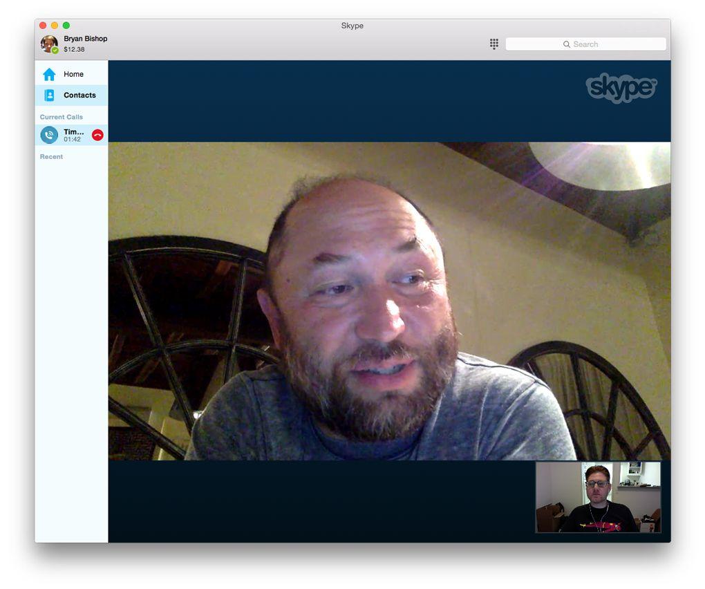 Timur Bekmambetov Skype conversation