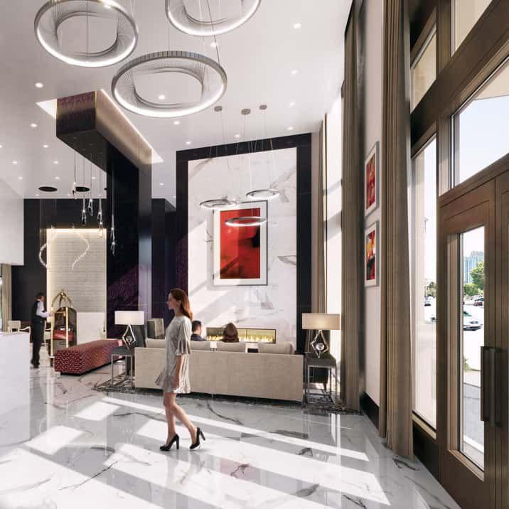 Small Luxury Apartment Buildings: Biggest, Glitziest Condo Tower In Atlanta's Buckhead