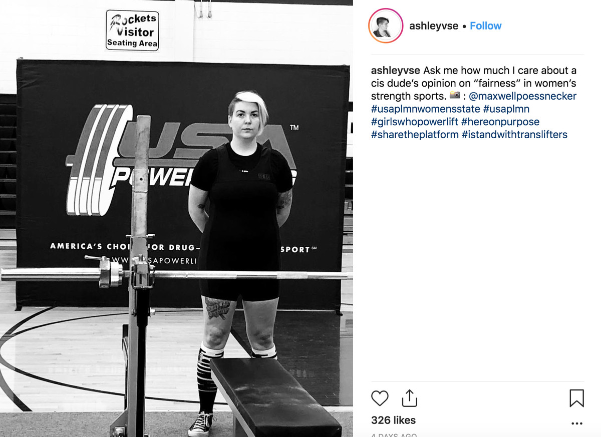 USA Powerlifting warns: trans ban protests 'will not be