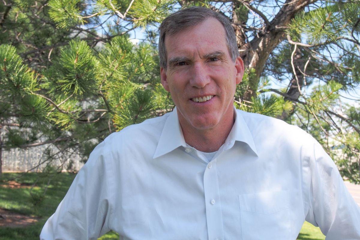 Doug Robinson in a campaign photo. (Courtesy Doug Robinson)
