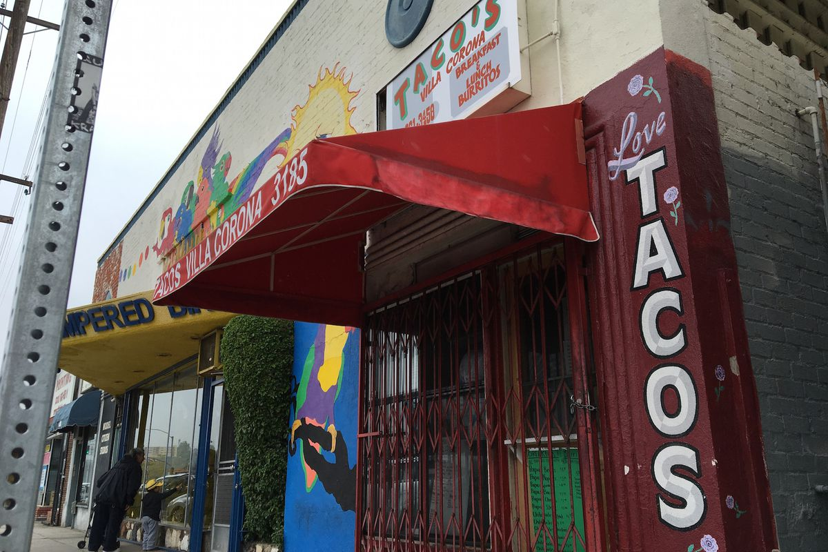 Tacos Villa Corona on Friday morning, April 8