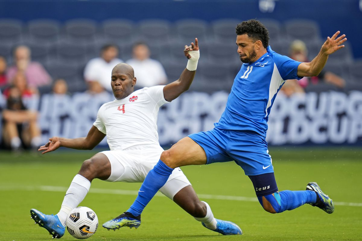 Soccer: CONCACAF Gold Cup Soccer-Canada at Martinique