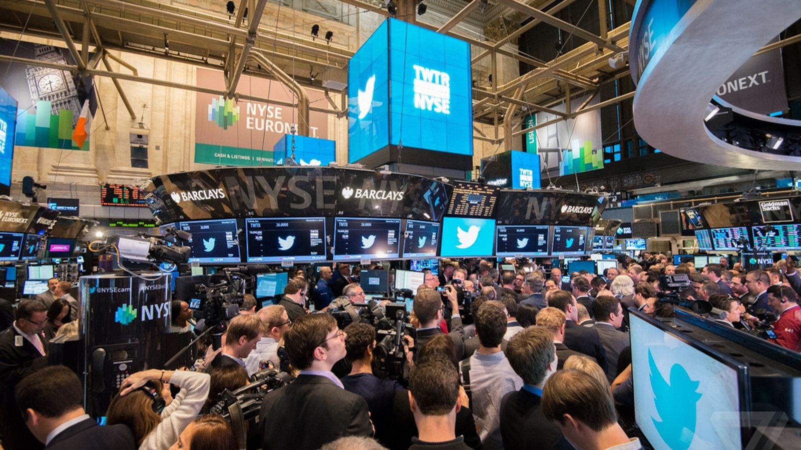 Twitter's Stock Closes At $4490 A Share, Up 73 Percent On Its First Day   The Verge